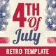 4th of July Party Flyer Template - GraphicRiver Item for Sale