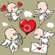 Angels with Valentine Heart - GraphicRiver Item for Sale