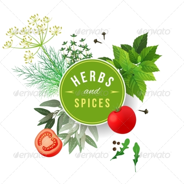 GraphicRiver Herbs and Spices 7938505