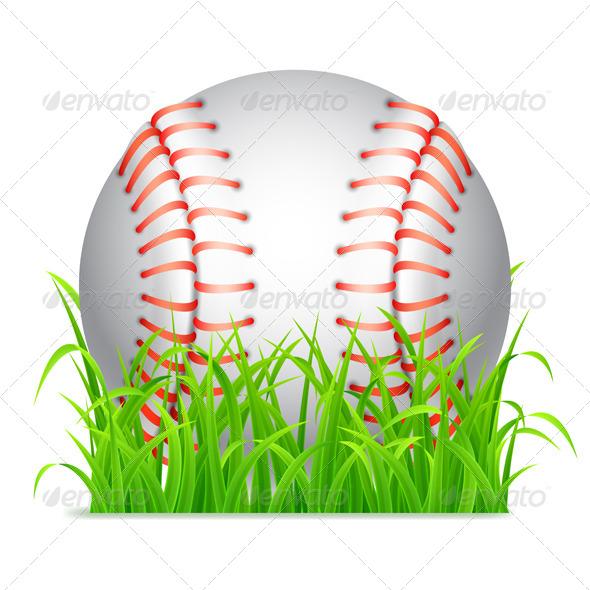 GraphicRiver Baseball Ball 7939228