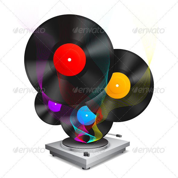 GraphicRiver Music Concept 7939255