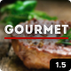 Gourmet - Restaurant Bar Hotel WordPress Theme - ThemeForest Item for Sale