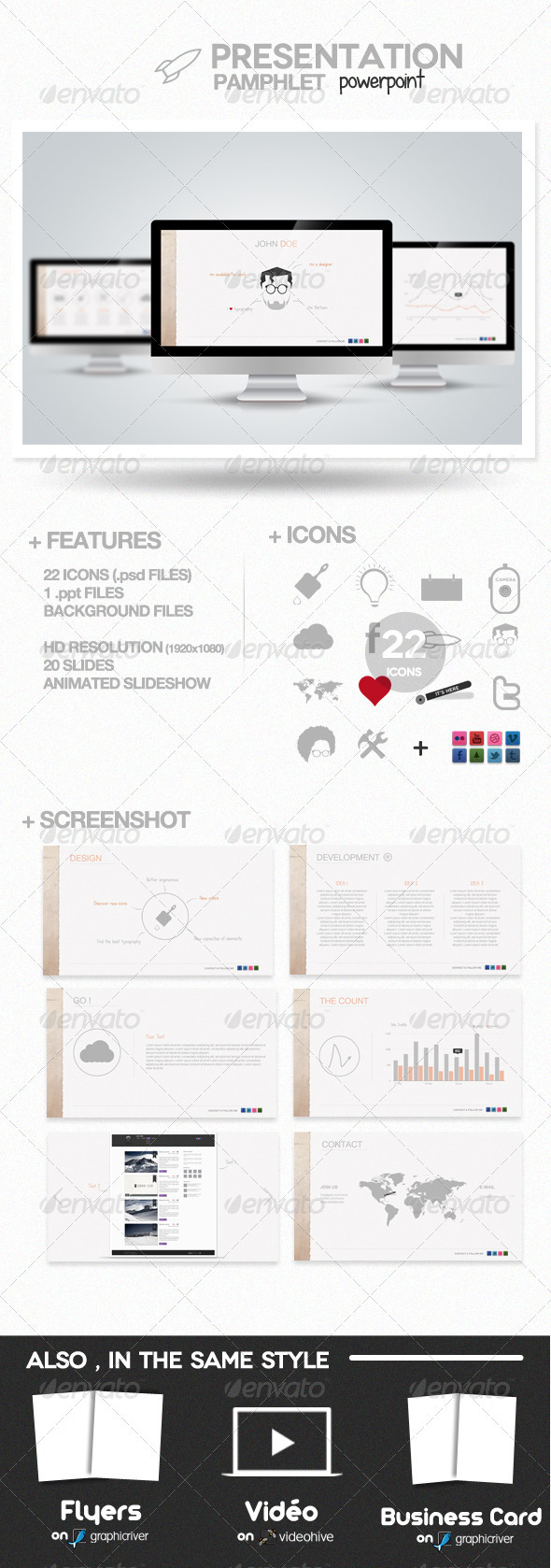 GraphicRiver Pamphlet Presentation Powerpoint 809545