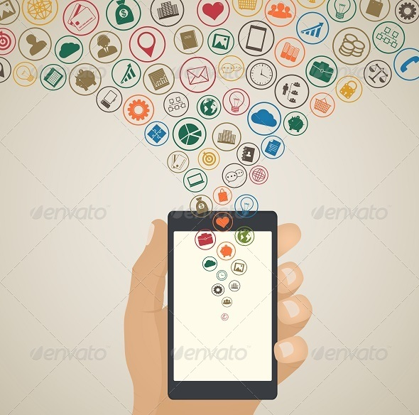 GraphicRiver Mobile App Development Concept 7939679