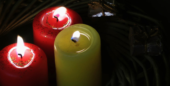 Candles and Gift Box 6