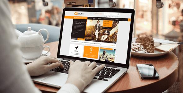 INFINITY     Multipurpose HTML5 Template