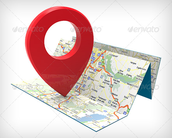 GraphicRiver 3D Map Graphic 7939991