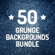 50 Grunge Backgrounds Bundle - GraphicRiver Item for Sale