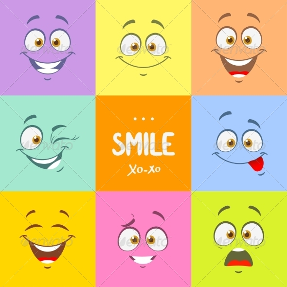 GraphicRiver Smile Set 7940212