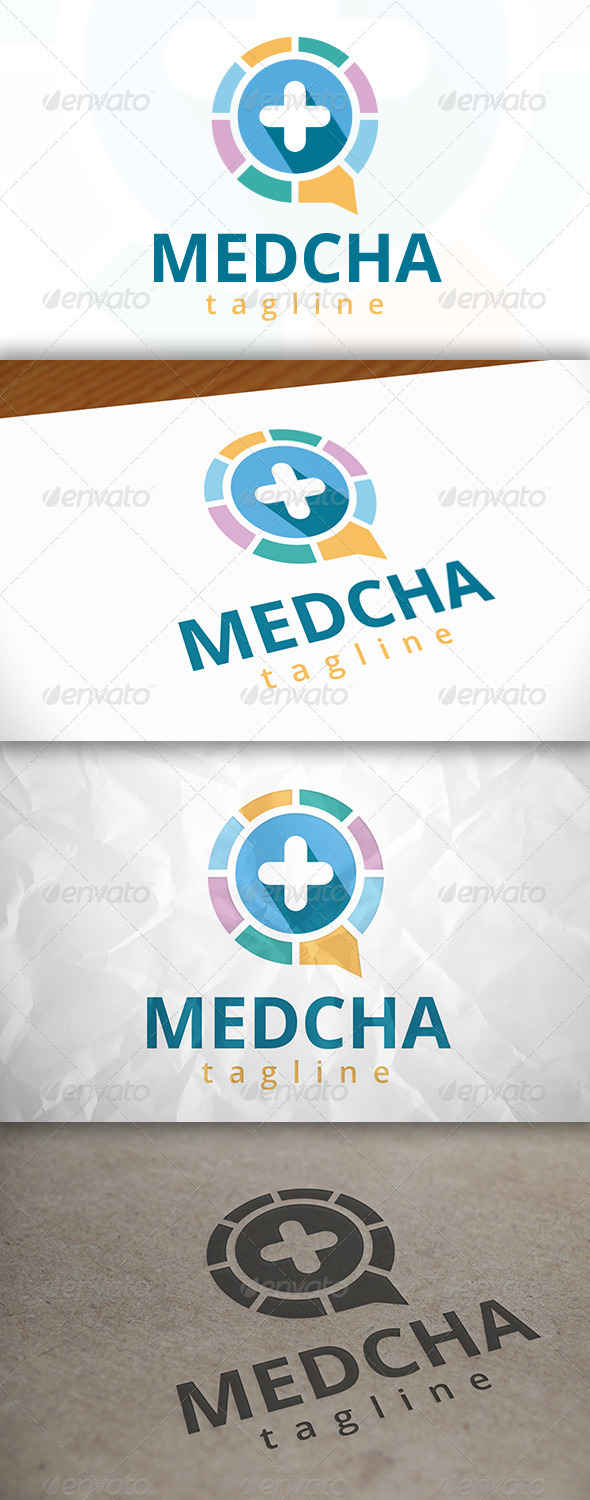 GraphicRiver Medic Chat Logo 7940318