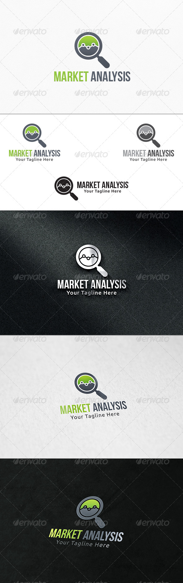 GraphicRiver Market Analysis Logo Template 7941082