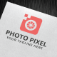 Photo Pixel Logo Template - GraphicRiver Item for Sale