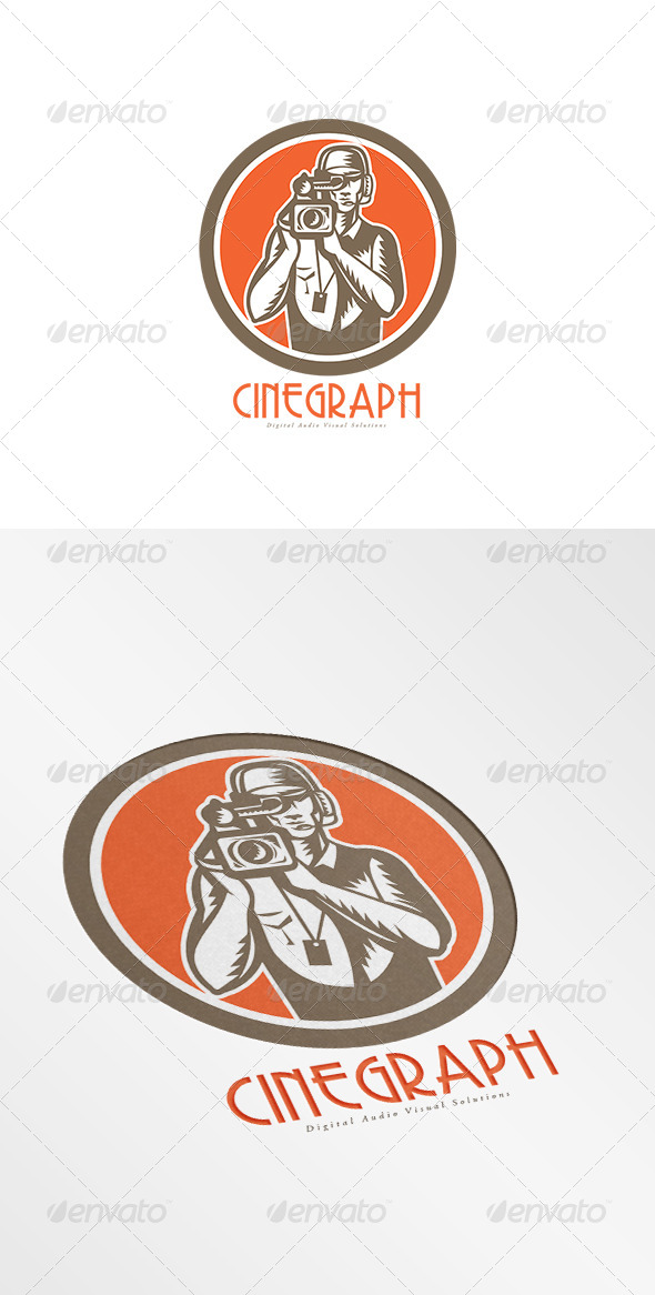 GraphicRiver Cinegraph Digital Audio Video Solutions Logo 7941245