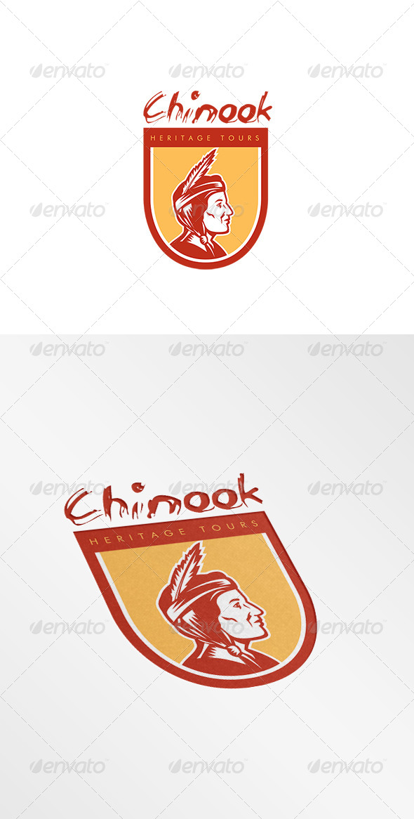 GraphicRiver Chinook Heritage Tours Logo 7941306