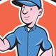 Handyman Repairman Thumbs Up Cartoon - GraphicRiver Item for Sale