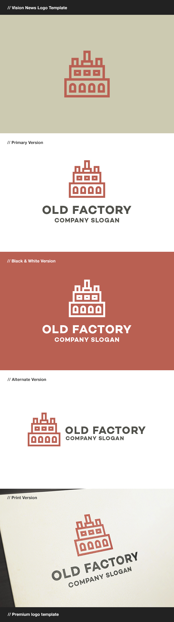 GraphicRiver Old Factory 7942233