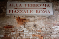 Directional street signs in Venice - PhotoDune Item for Sale