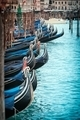 Series italian gondola in Venice - PhotoDune Item for Sale