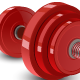 Red Dumbbell - GraphicRiver Item for Sale