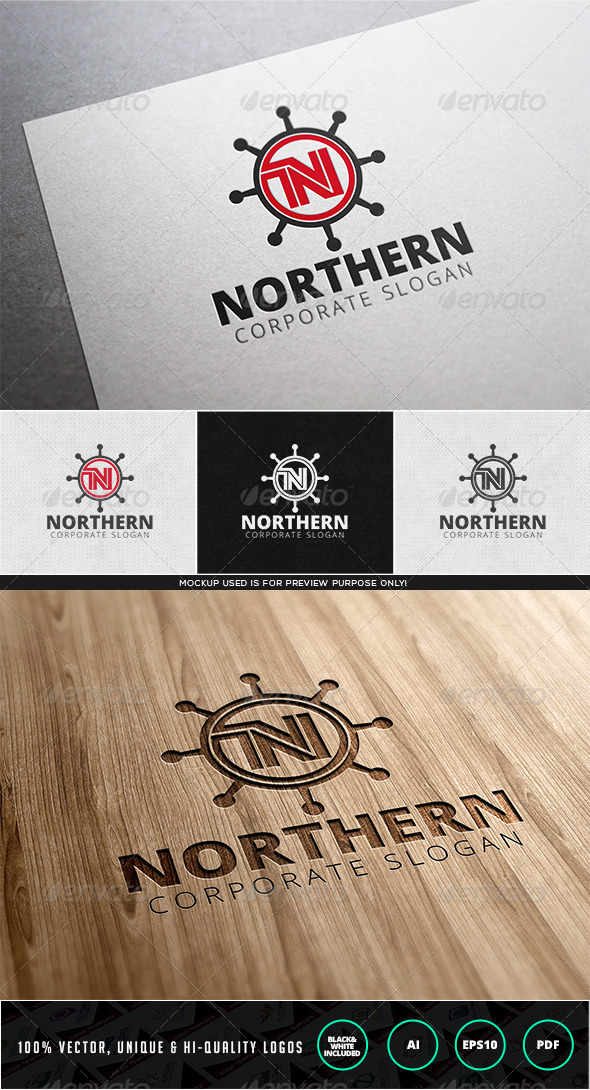 GraphicRiver Northern Logo Template 7944757