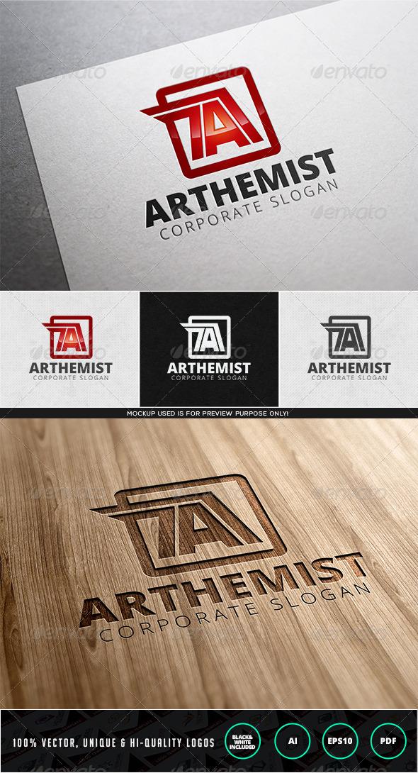 GraphicRiver Arthemist Logo Template 7946336