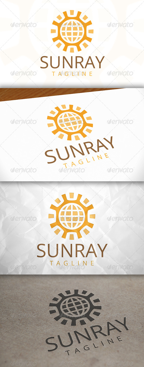 GraphicRiver World Sun Logo 7946382