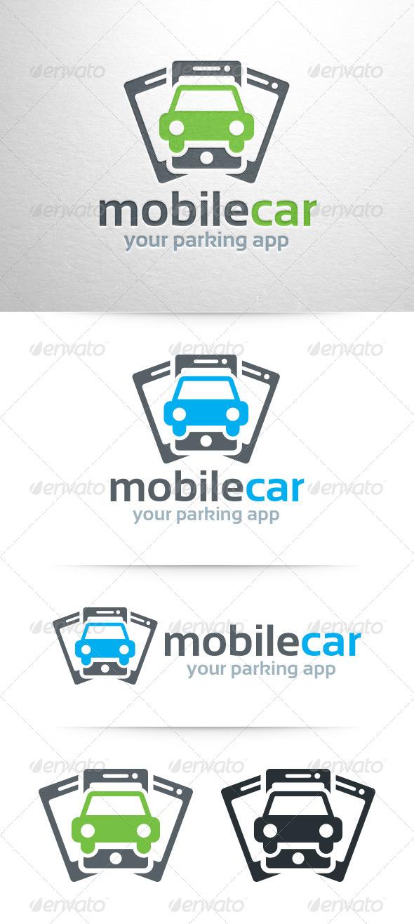 Mobile Car Logo Template