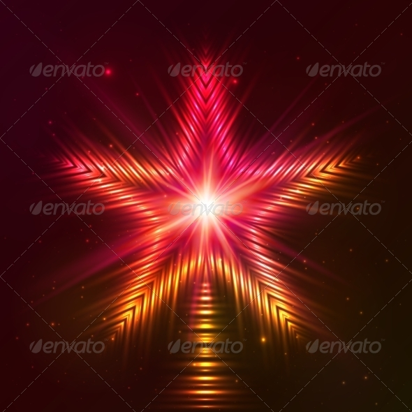 GraphicRiver Fire Red Vector Star 7947243
