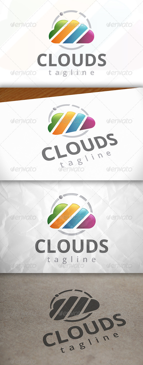 GraphicRiver Cloud Logo Template 7947340