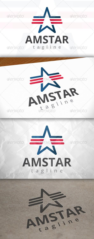 GraphicRiver American Star Logo 7947493