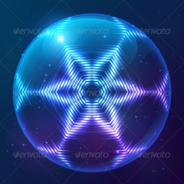 GraphicRiver Cosmic Shining Vector Abstract Sphere 7947801