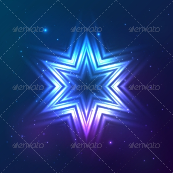 GraphicRiver Cosmic Shining Vector Abstract Star 7947897