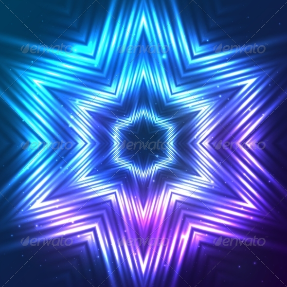 GraphicRiver Cosmic Shining Vector Abstract Star 7947948