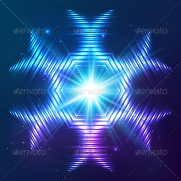 GraphicRiver Cosmic Shining Vector Abstract Star 7947955