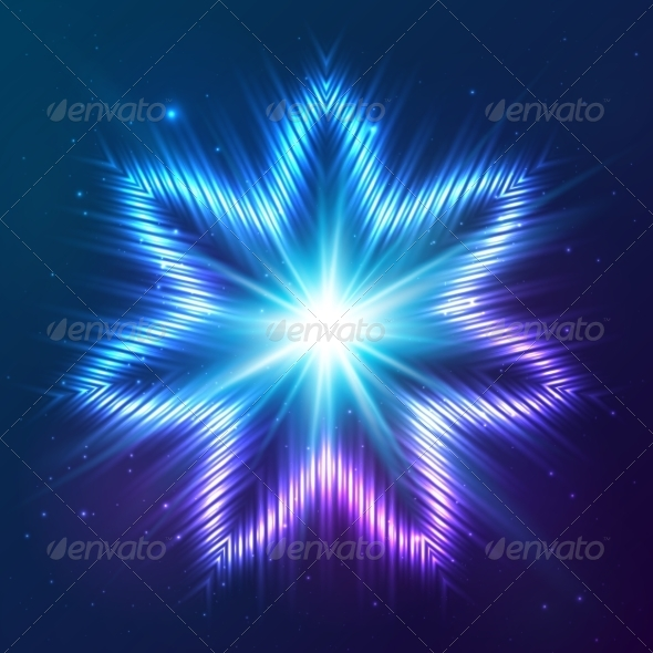 GraphicRiver Cosmic Shining Vector Abstract Star 7947957