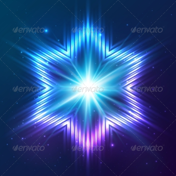 GraphicRiver Cosmic Shining Vector Abstract Star 7948176