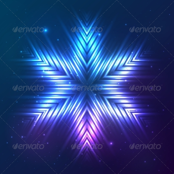 GraphicRiver Cosmic Shining Vector Abstract Star 7948190
