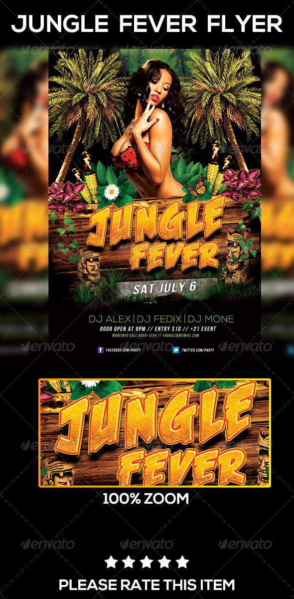 GraphicRiver Jungle Fever Flyer 7948493