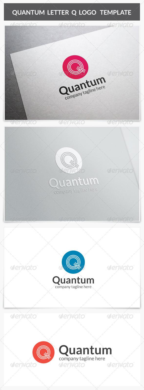 GraphicRiver Quantum Letter Q Logo 7948913