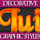 Set of Colorful Graphic Styles for Design. - GraphicRiver Item for Sale