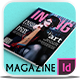 Inong Magazine Template - GraphicRiver Item for Sale