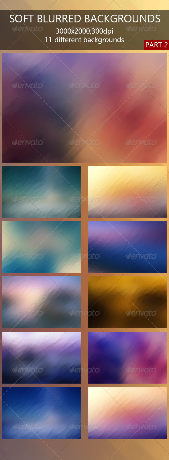 GraphicRiver Soft Blurred Backgrounds 2 7949083