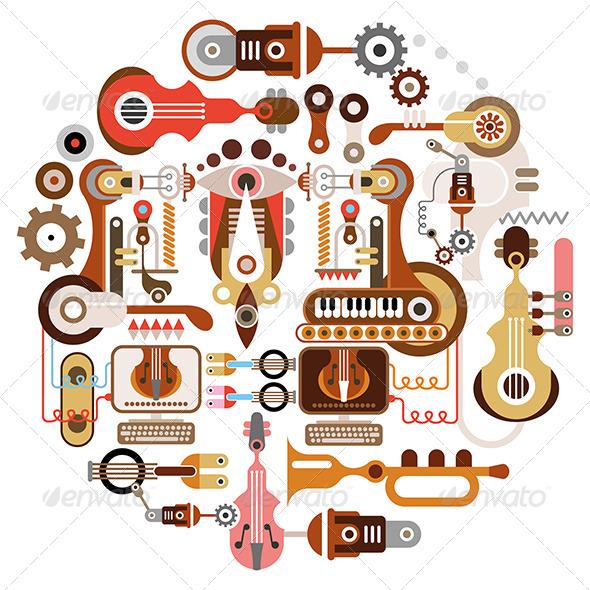 GraphicRiver Music Shop 7949309