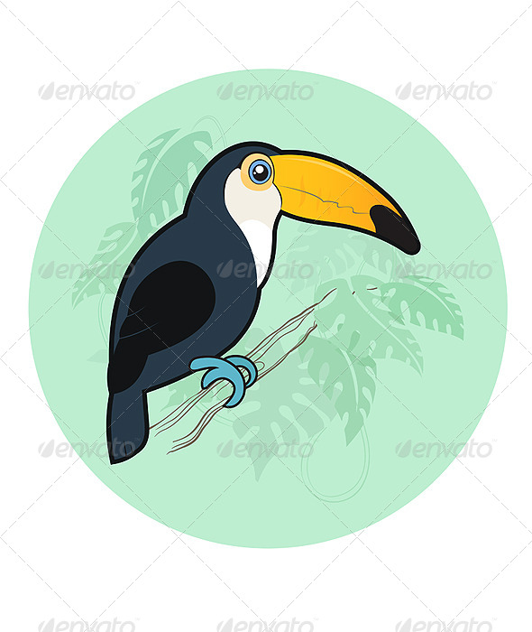 GraphicRiver Toucan 7949524