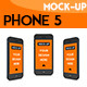 Phone Display Mockup - GraphicRiver Item for Sale