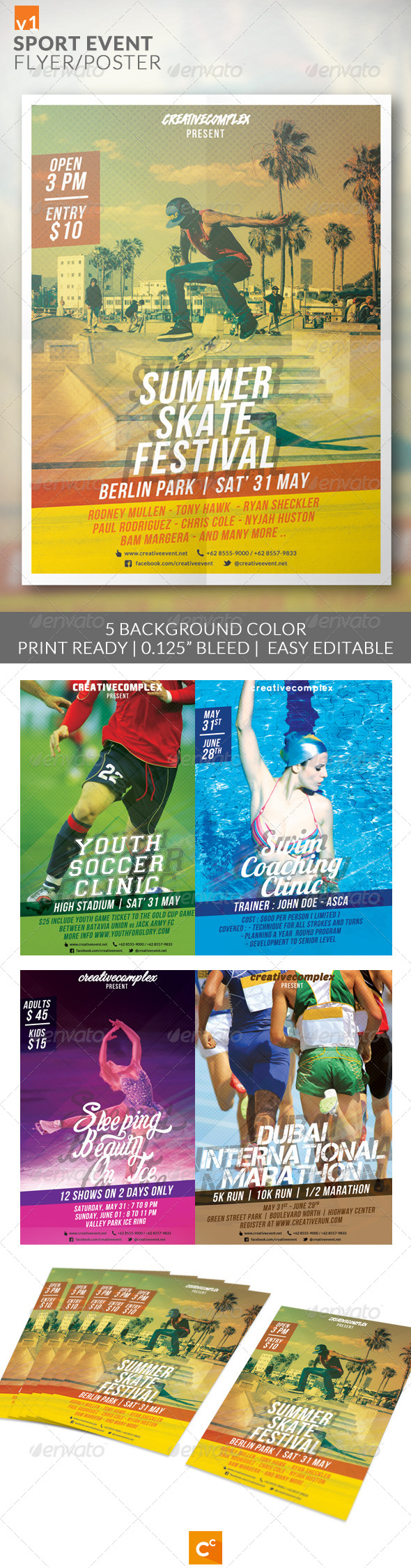 GraphicRiver Sport Event Flyer Poster 7905446
