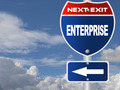 Enterprise road sign - PhotoDune Item for Sale