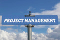 Project management road sign - PhotoDune Item for Sale