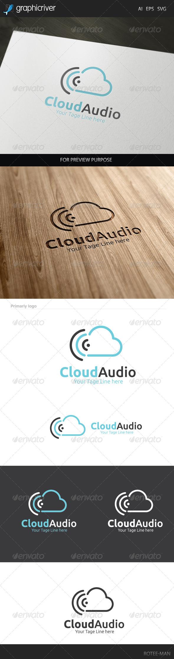 GraphicRiver Cloud Audio Logo 7949757