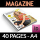 Normal Life Magazine Template - 40 Pages - GraphicRiver Item for Sale